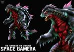 SPACE GAMERA by OHMEGA18