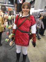 Armageddon Expo 2012 - Red Link by fulldancer-alchemist