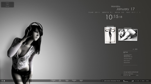 Aleksandra for Rainmeter by McBarranca