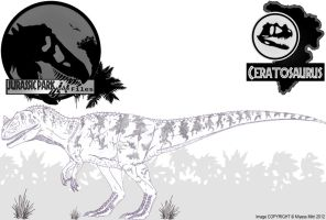InGen Files - Ceratosaurus (updated) by Miyess