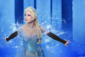 Frozen - Elsa by adelhaid