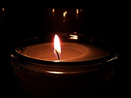 Candle close up by kacibizarre