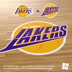 Los Angeles Lakers new logo (concept) by DeviArTZ