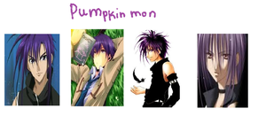 pumpkin mon as an anime guy by shock-is-awesome44