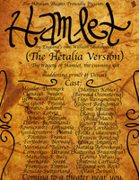 Hetalian Hamlet Poster (Preview of Play) by Sa-ChanCentral