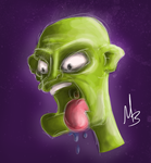 screaming goblin creature by cryptmonkey
