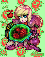 Baby Metroid by Gullacass