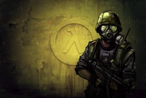 Half Life opposing force by Venom-svd
