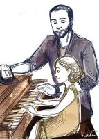 Piano Lesson by reubelyn