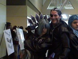 Zexion Appears - Otakon by HarlequinKiss
