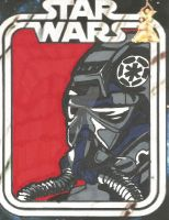 Tie Pilot sketch card 3 by HooliganAlley