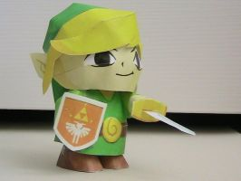 Four Swords Link Papercraft by may7733