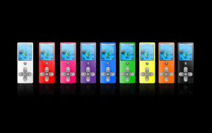 Atom MP3 Player colors by jeremebp