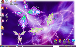 My desktop of Winx by WinxSparkle
