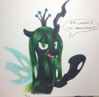 NATGIII:Day 10: Chrysalis's Past Question by MaikeruTo