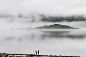 Island in a Fog by amrodel