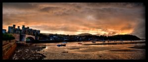 Castle Quay Sunset by Laurence-CE