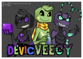 Devic Vee and Cy by ZombiDJ