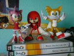 Amy, Knuckles and Tails by TheCrimsonEmo