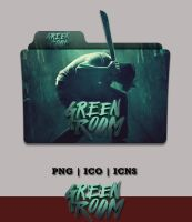 Green Room (2016) Folder Icon by Bl4CKSL4YER