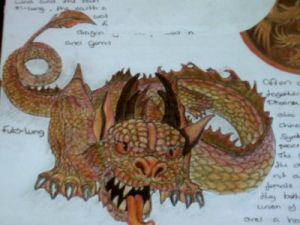 fute-lung whinese dragon