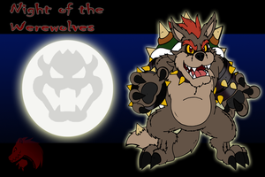 Night of the Werewolves Bowser by Chibi-Tediz
