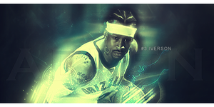 Allen Iverson Signature by kingsess