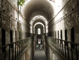 Eastern State Penitentiary 5 by Dracoart-Stock