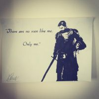 Jaime Lannister Stencil by Hillbro