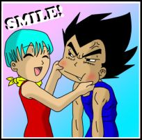 Smile Vegeta by Dbzbabe
