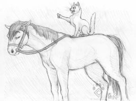 ONWARDS! Sketch by Idess