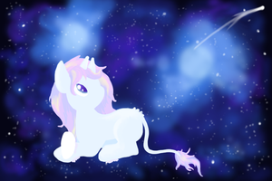 Chibi Pet's Shooting Star- Entry 1 by GoWaterTribe