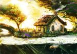 Summer Cottage speedpaint by 1Rich1