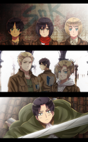 Shingeki no Kyojin: The Merciless World by ROSEL-D