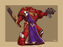MK VIII Blood Angel by Blazbaros