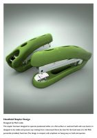 Handheld Stapler Design by marksmedia