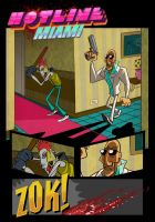 Hotline Miami by Jean--Franco