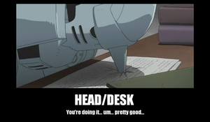 head/desk by animelover0831