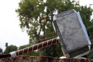 Avengers Thor Hammer 2012 f by NMTcreations
