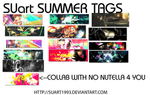 SUMMER.TAG WALL by SUart1993
