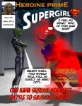 Heroine Prime Volume 1 Issue 4: Supergirl by TrekkieGal