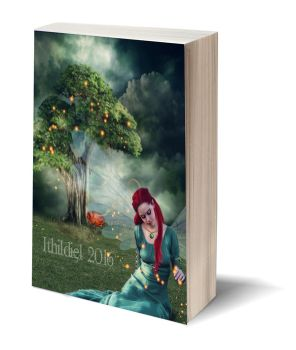 3D-Book template-Here be fairies by Ithildiel