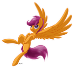 Scootaloo by PoniMichla