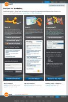OneSpot Vertical Landing Page by matteo