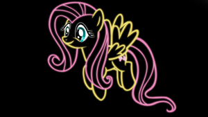 Fluttershy Background by ikillyou121