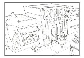 Diner by minouch