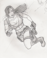Croft, in a hurry by Holly-the-Laing