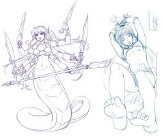 Commission wip20100719 by bokuman