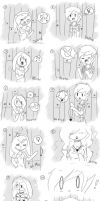Short Fiolee comic by Drawing-Heart