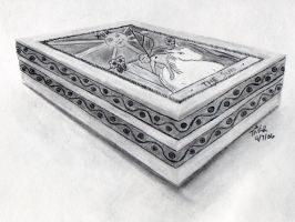 3Pt Perspective Box Drawing by Trish2